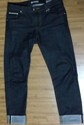 소버먼트 위드 로모트(SOVERMENT WITH LOMORT) nonwash span selvedge denim*japan* 후기