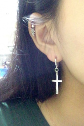 띵커(THINCKER) THINCKER CROSS EARRING (m) 후기