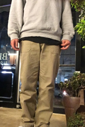 러기드하우스(RUGGED HOUSE) 10s TWILL FATIGUE WORKPANTS 베이지 후기