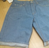 "제로(XERO) Vintage Denim Shorts ""Bright Slub"" 후기"