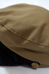 밀리어네어햇(MILLIONAIRE HATS) US DECK COTTON MATROOS CAP [BEIGE/BLACK] 후기