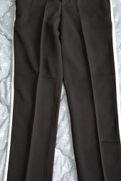 언아웃핏(AOTT) UNISEX COLORATION TAPERED SLACKS AP-02 BLACK 후기