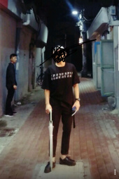 오베르(OVERR) ESSAY.1 INFLUENCE BLACK TEE 후기