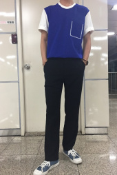 에드(ADD) LONG WIDE SLACKS_F BLACK 후기