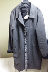 프레리(PRAIRIE) [UNISEX] XO LINE WASHED COTTON SINGLE COAT(Black) 후기