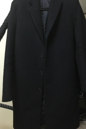퍼스트플로어(FIRSTFLOOR) [17 F/W] THE EASY COAT (DARK NAVY cashmere blended) 후기