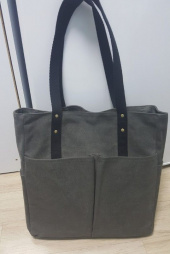 모노노(MONONO) 6 Pocket 3 Way Bag_Wax Canvas Charcoal [왁스캔버스] 후기