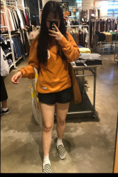 커버낫(COVERNAT) C LOGO CREWNECK ORANGE 후기