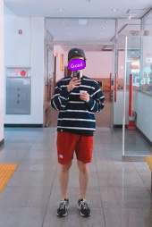 팔칠엠엠서울(87MM_SEOUL) [Mmlg] MMLG STRIPE SWEAT (NAVY) 후기