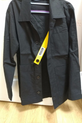 스텝온리(STAFFONLY) SAFETY BELT COVERALL JACKET (BLACK) 후기