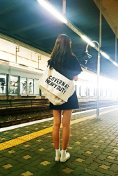 커버낫(COVERNAT) COTTON CANVAS MAIL BAG 후기