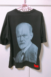 오베르(OVERR) 17S/S FREUD BLACK T-SHIRTS 후기