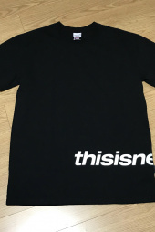 디스이즈네버댓(THISISNEVERTHAT) H-SP-Logo Tee White 후기