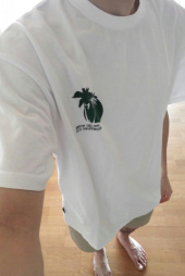 디스이즈네버댓(THISISNEVERTHAT) Palm Tree Tee White 후기