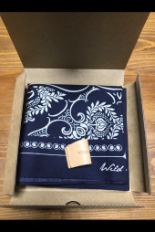 와일드 브릭스(WILD BRICKS) WB BANDANA (navy) 후기