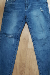 86로드(86ROAD) 86RJ-1712 triangle destroyed jeans 후기