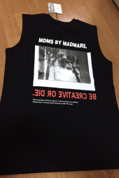매드마르스(MADMARS) BACKPRINTING SLEEVELESS_WHITE 후기