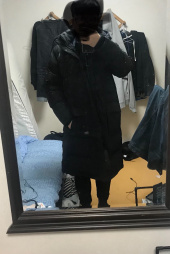커버낫(COVERNAT) 17A/W DUCK DOWN BENCH LONG PARKA BLACK 후기