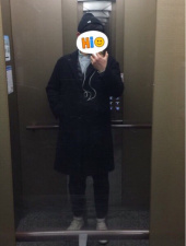 커버낫(COVERNAT) [남/녀] WOOL CASHMERE CHESTER COAT BLACK 후기