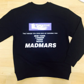 매드마르스(MADMARS) WHERE WE ARE LS TEE_BLACK (기모) 후기