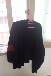 알이씨 인터뷰(REC interview) COLOR BLOCK CARDIGAN(BLACK) 후기