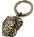 Forever 2 Wheels Brass KeyChain