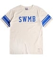 Swmb lined college t-shirt ivory