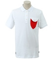 ROUND POKET POINT PK SHIRT (WHITE)