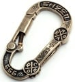 Sheen666 Original Brass Karabiner