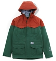 GORE-TEX MOUNTAIN PARKA GREEN/ORANGE