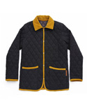 CLASSIC QUILTING JACKET CHARCOAL