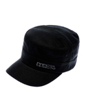 COTTON TWILL ARMY CAP 9720 BLACK