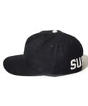 BACK HIT EBBETS 5PANEL BLACK