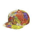WORLD MAP CAP