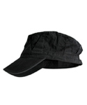 RAILROAD FIELD CAP BLACK
