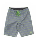 MINI STRIPE LONG TRUNK GREY