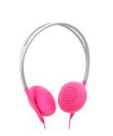 [EC30033S] INCASE PIVOT ON EAR HEADPHONE - FLINT STONE / POP PINK (EC30033S)