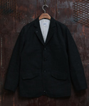 COTTON COVERT SPORT COAT BLACK