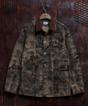 CLOUD CAMO RAILROAD JACKET BEIGE