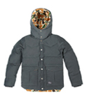 KROSS DOWN JACKET CHARCOAL