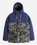 커버낫 CLOUD CAMO MOUNTAIN PARKA NAVY