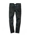 M0095 BLACK COATING JEANS