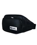 NYLON WAIST BAG BLACK