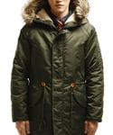 REMEMBRANS N3B HEAVY PARKA KHAKI