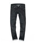 M#0103 BLACK RIGID SPAN DENIM