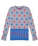 MONOROS KNITTED JUMPER 5 BLUE