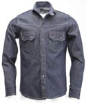 [RB]WESTERN BASE WORK DENIM SHIRT(INDIGO)
