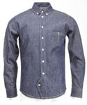 [RB]HIDDEN LOOP DENIM SHIRT(INDIGO)