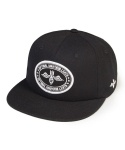 Flying bomb 6 panel cap black