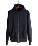 NAVY BASIC HOODY